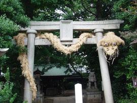 秘密の神社